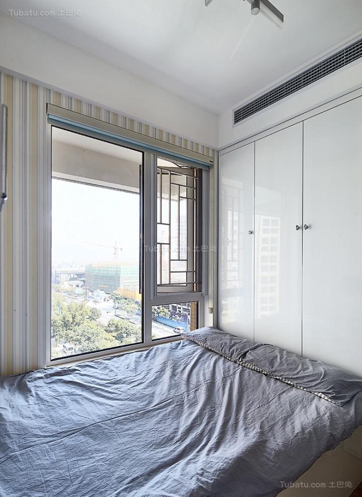 新古典精致休闲二居室装修效果图