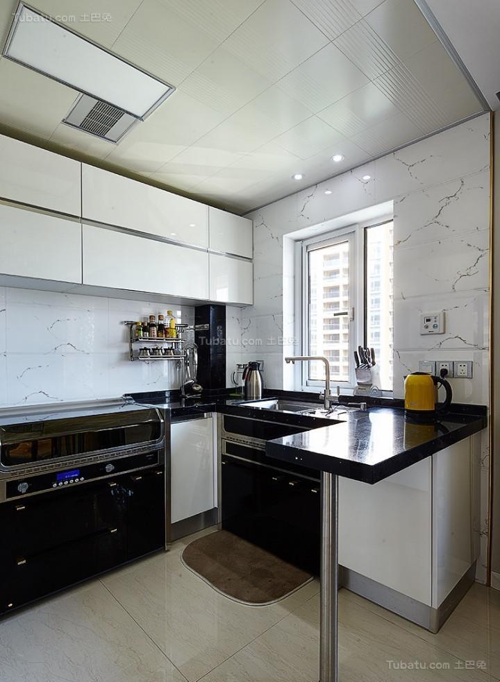 新古典精致休闲厨房装修效果图