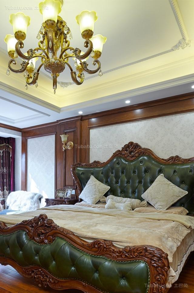 奢华复古欧式风卧室装修效果图