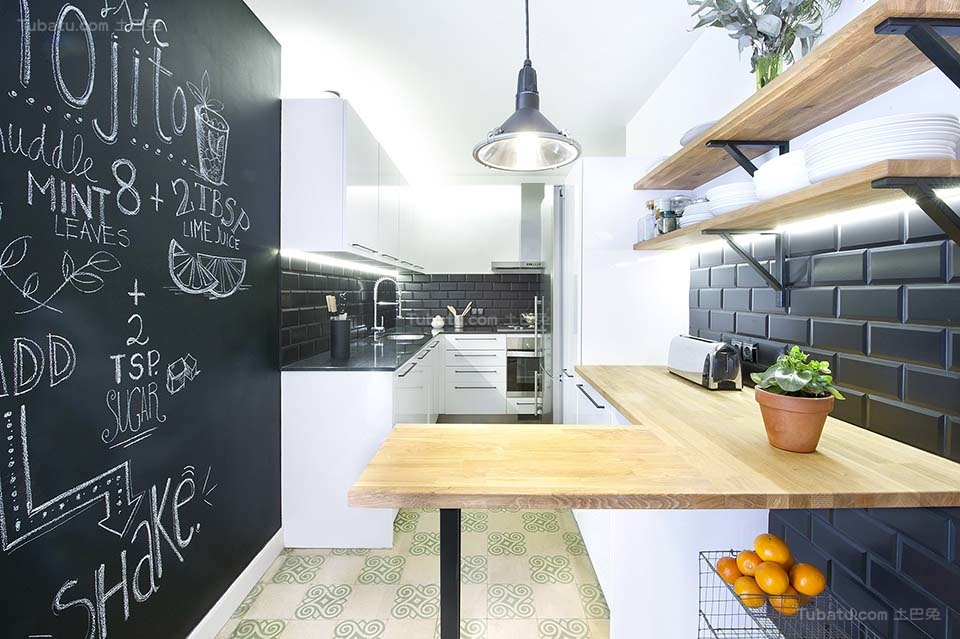 简约风清漾美感厨房图片