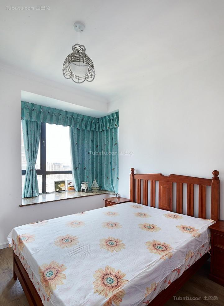个性休闲田园风格卧室装修效果图