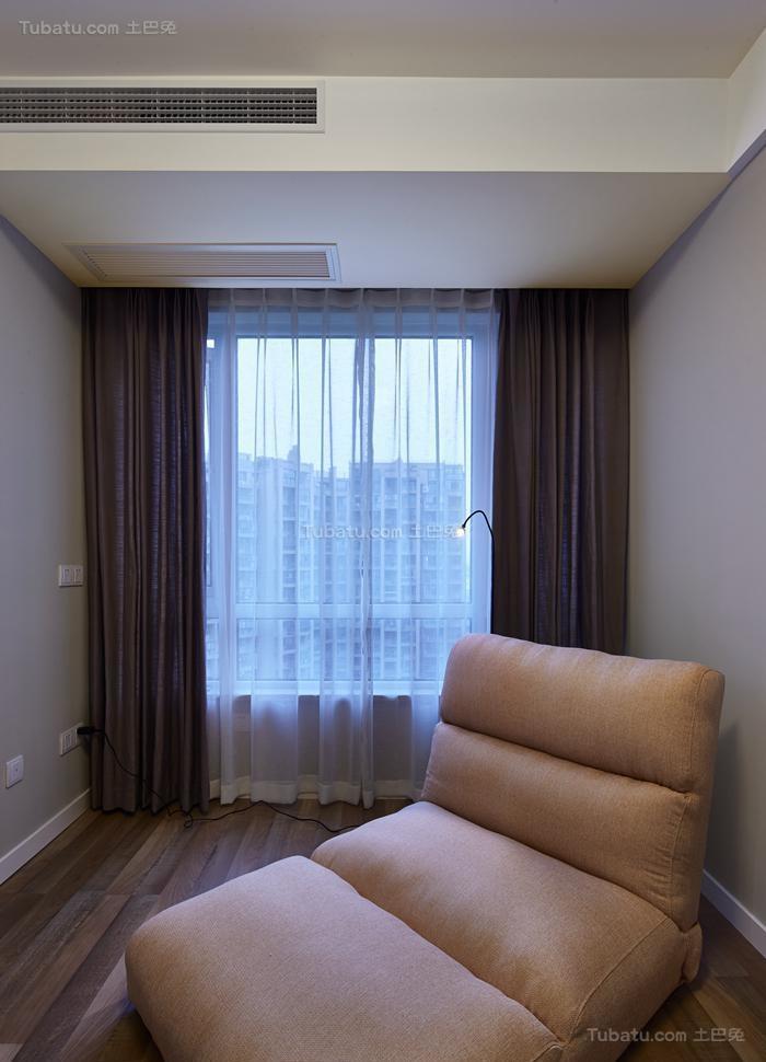 清新惬意简约风格窗帘装修效果图