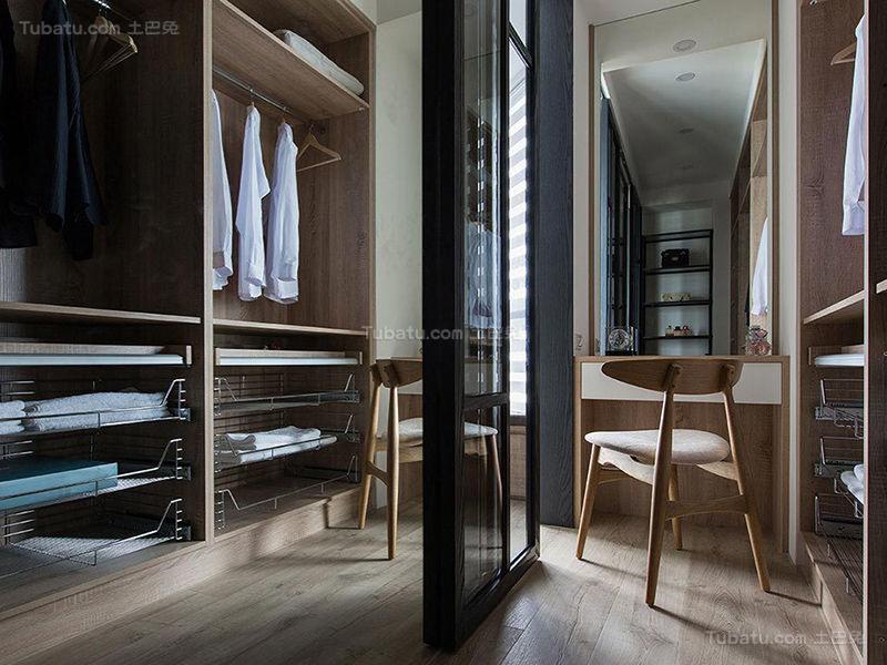质感潮流现代化衣柜设计效果图