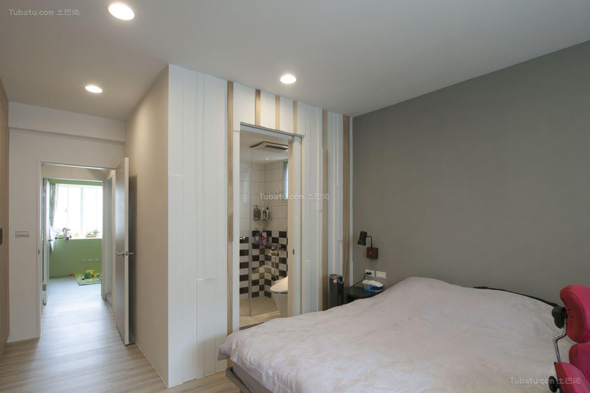 创意时尚北欧风格卧室设计效果图