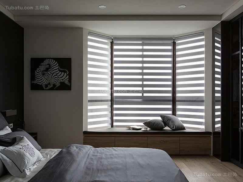 质感潮流现代化飘窗设计效果图