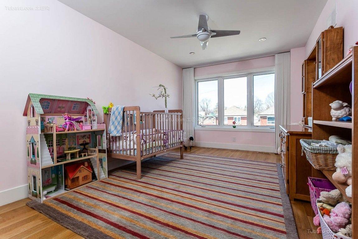 性感舒适混搭风格儿童房设计效果图