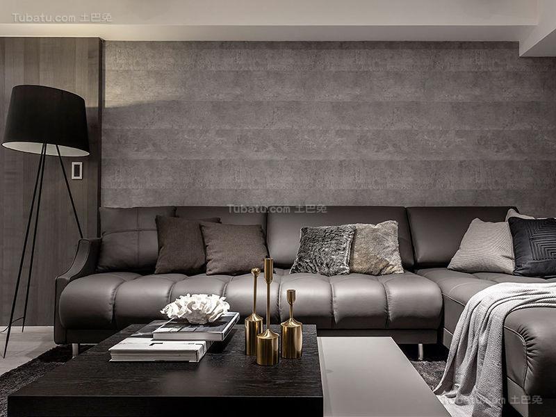 质感现代化客厅设计效果图