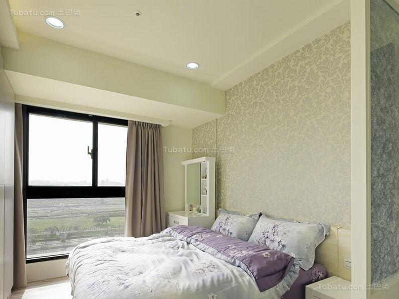 清新雅致现代化卧室设计效果图