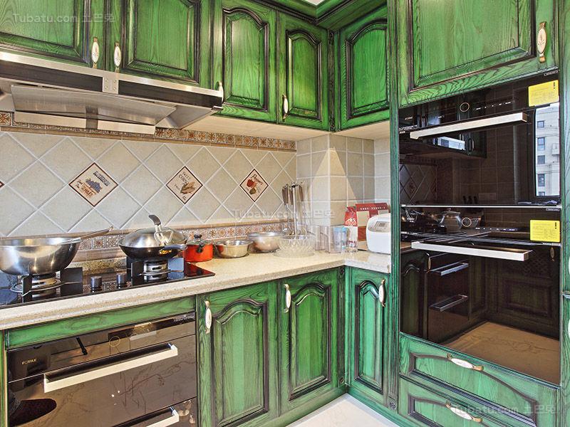 混搭摩登时尚厨房设计效果图