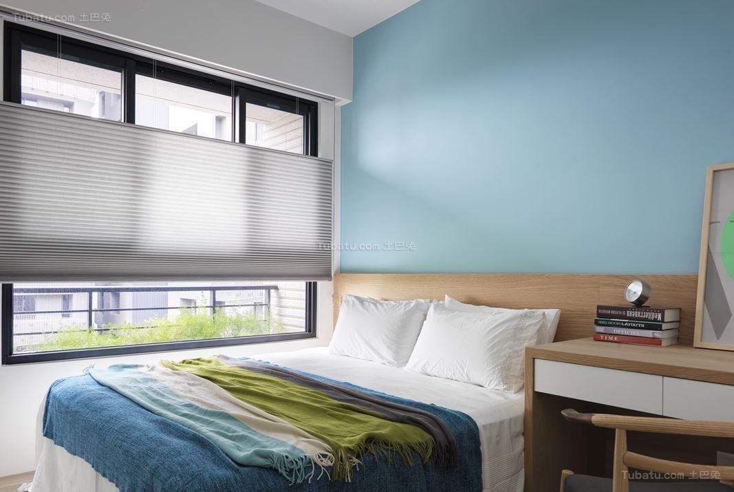 创意潮流北欧风卧室装修效果图