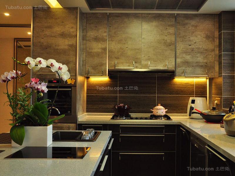 豪华新古典时尚厨房设计效果图