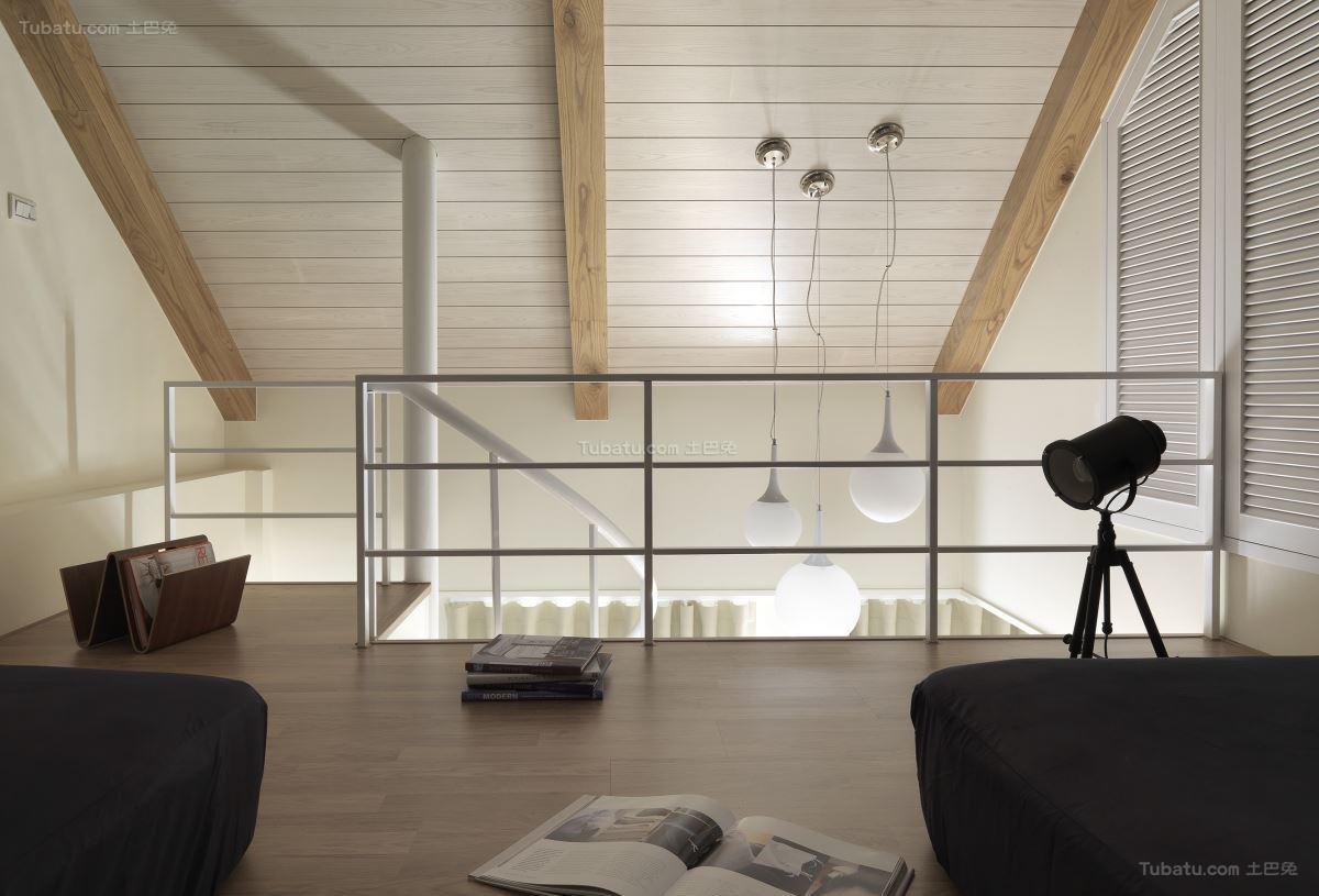 优雅北欧风格吊顶设计效果图