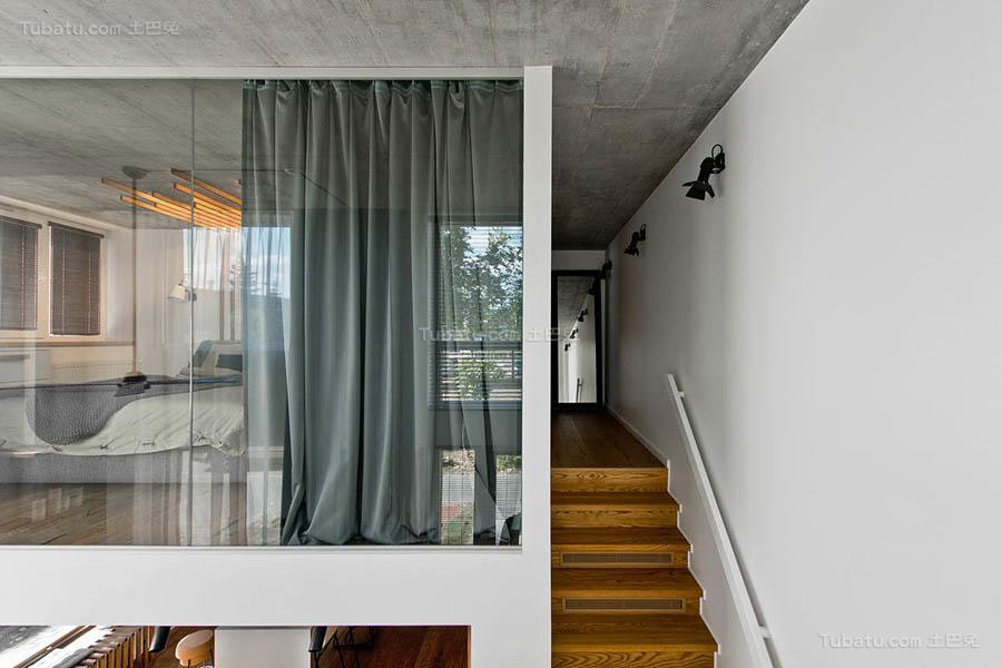 现代风温雅楼梯欣赏图