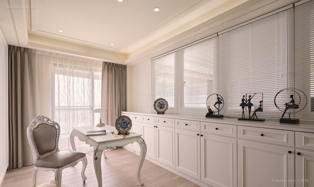 新古典优雅三居室装修效果图