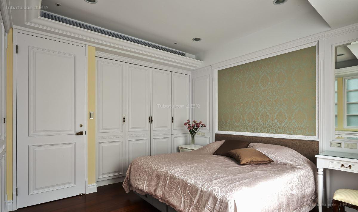 美式古典乡村风格卧室装修效果图
