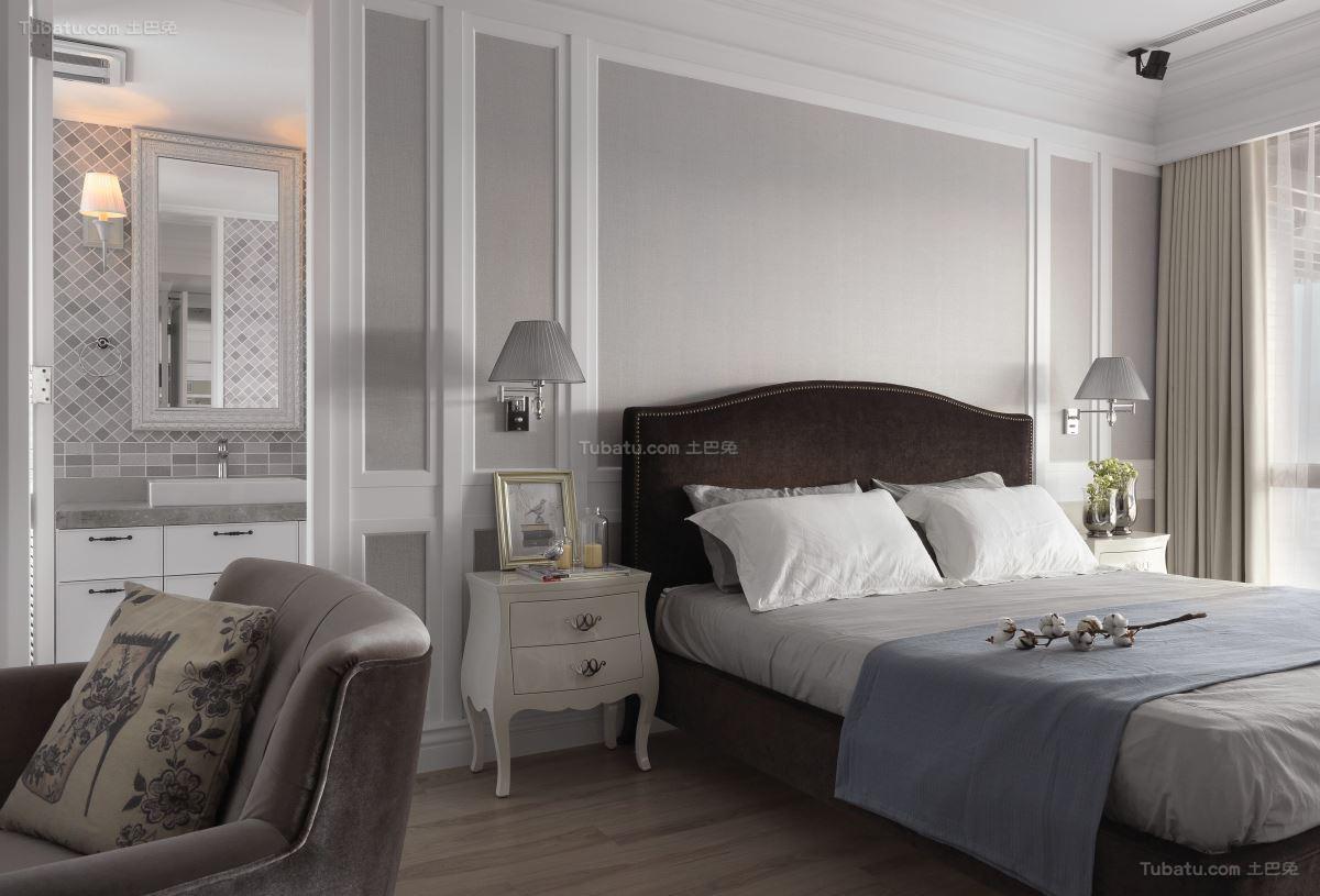 素雅新古典风格二居室装修效果图