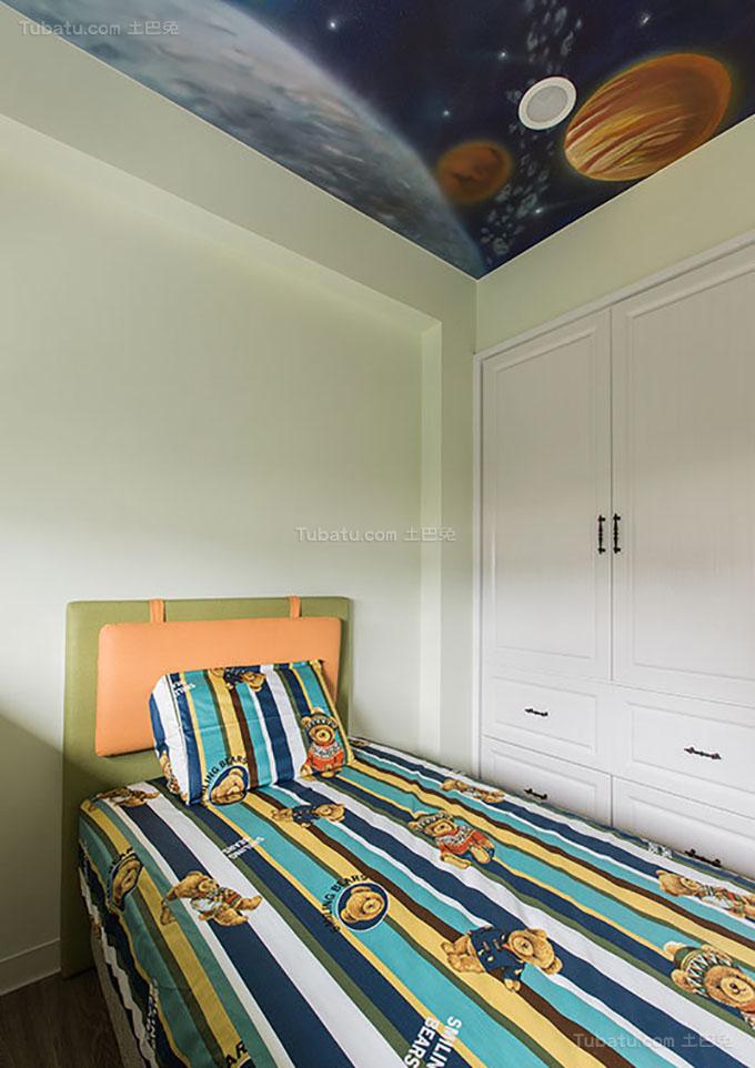 美式乡村风靓丽格调卧室图