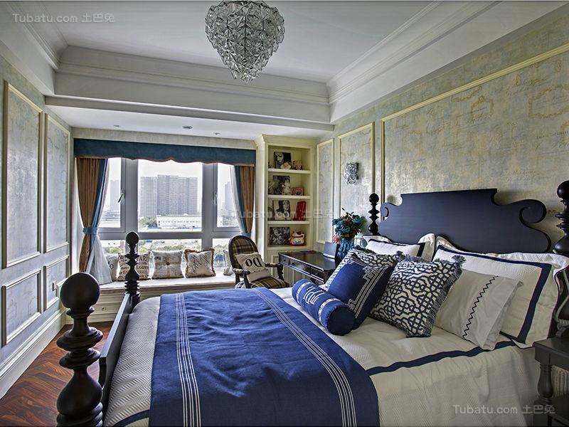 新古典韵味低奢的卧室装修效果图