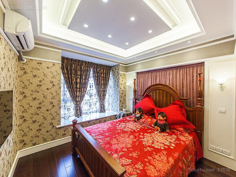 气质优雅田园风卧室装修效果图