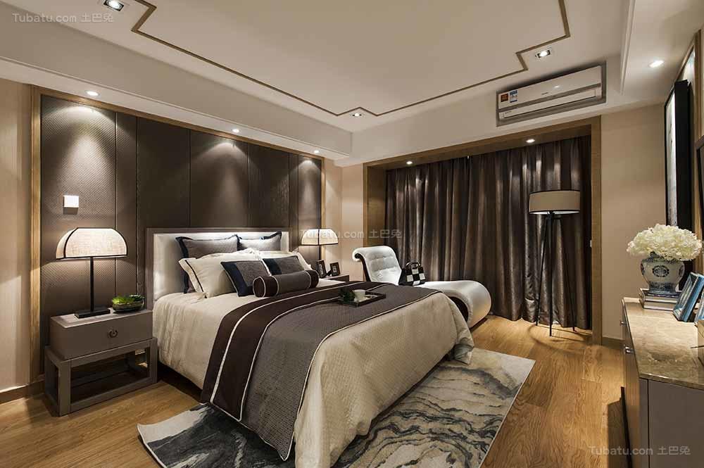东方雅韵中式风格的卧室装修效果图