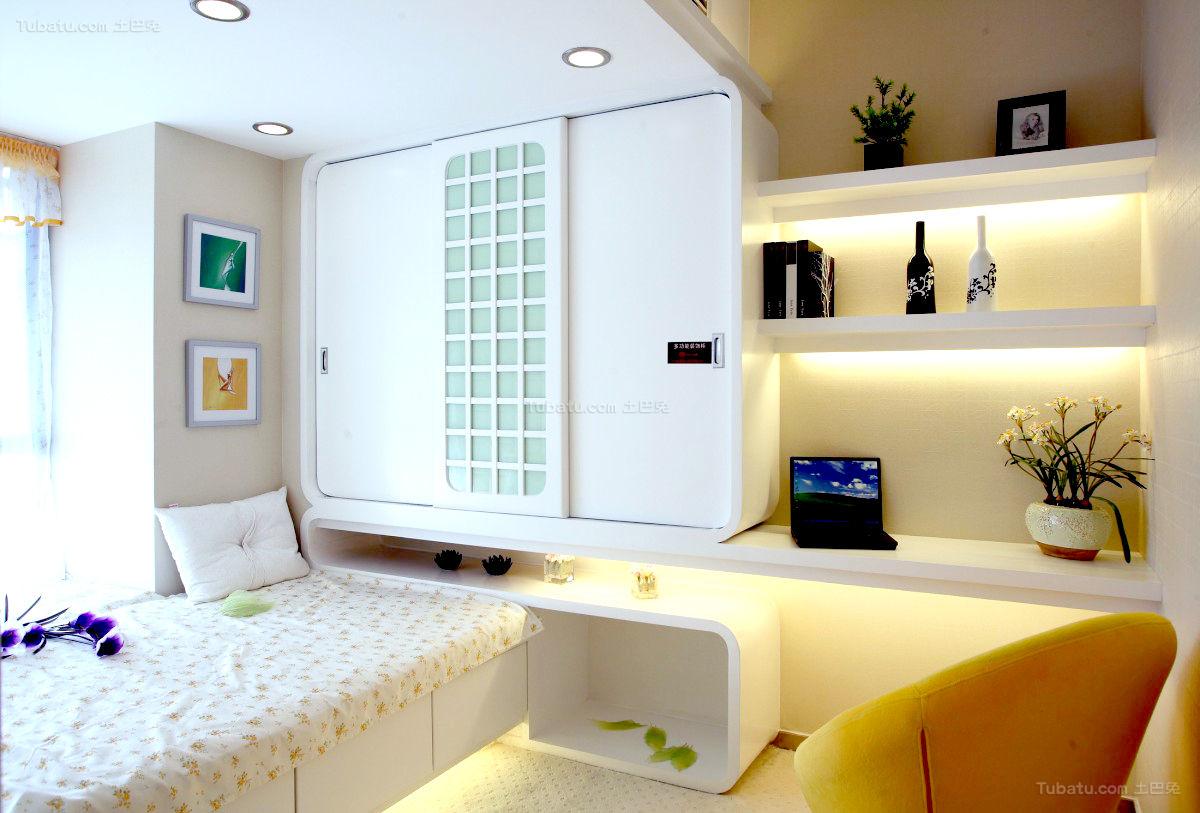 新古典创意二居室装修效果图