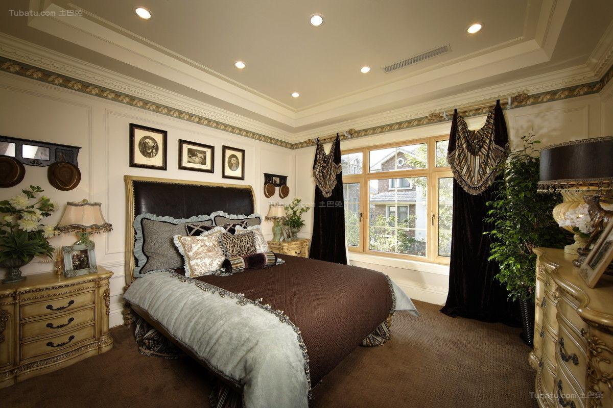 奢华精美欧式风卧室装修效果图