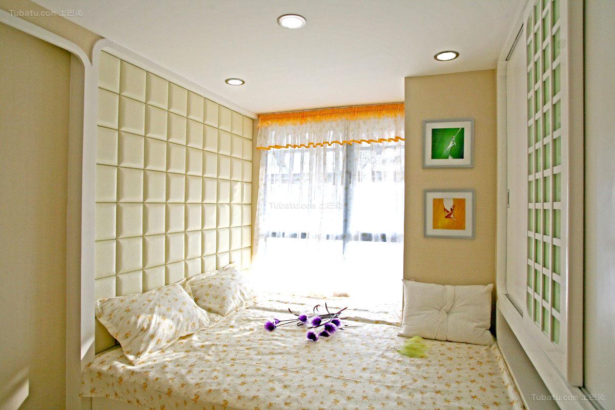 新古典创意卧室装修效果图