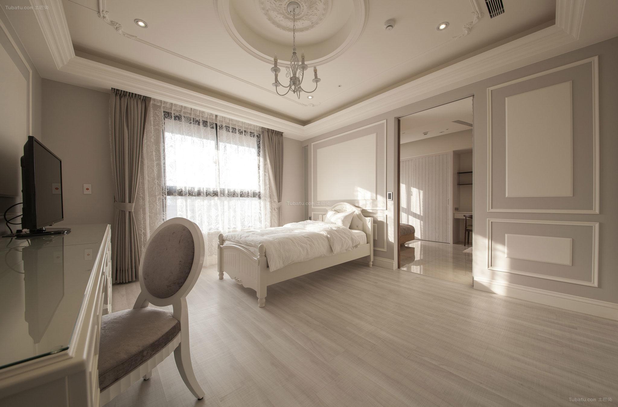 现代风优雅简美小卧室图片