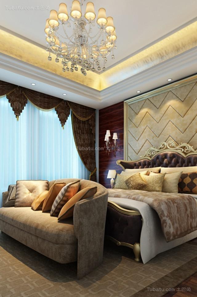 气质奢华家居欧式风格卧室装修效果图