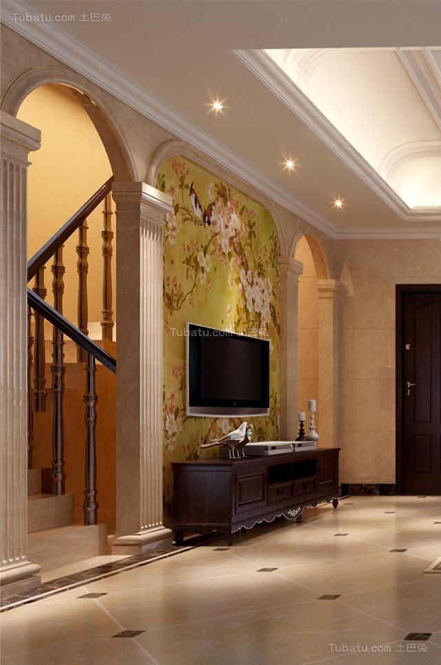 气质奢华家居欧式风格电视背景墙装修效果图