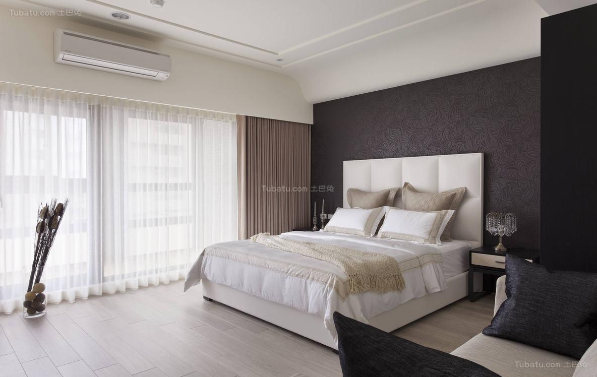 质感简洁卧室装修效果图