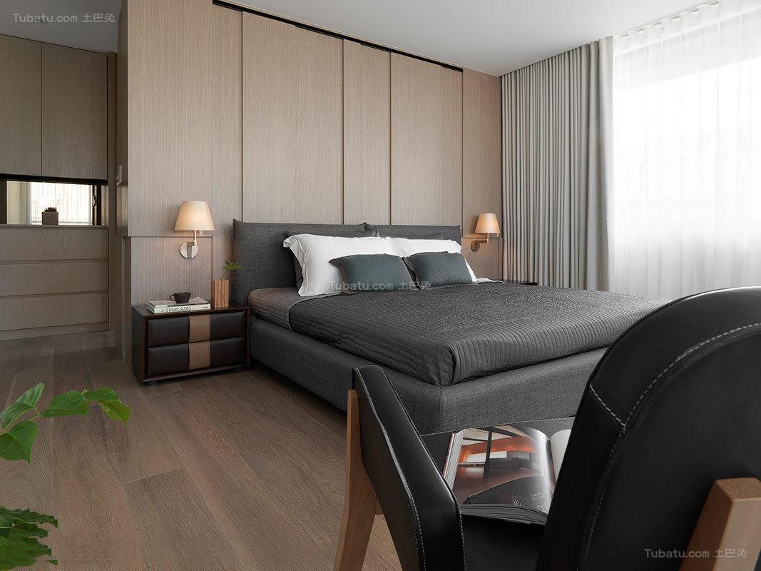 静谧优雅卧室装修效果图