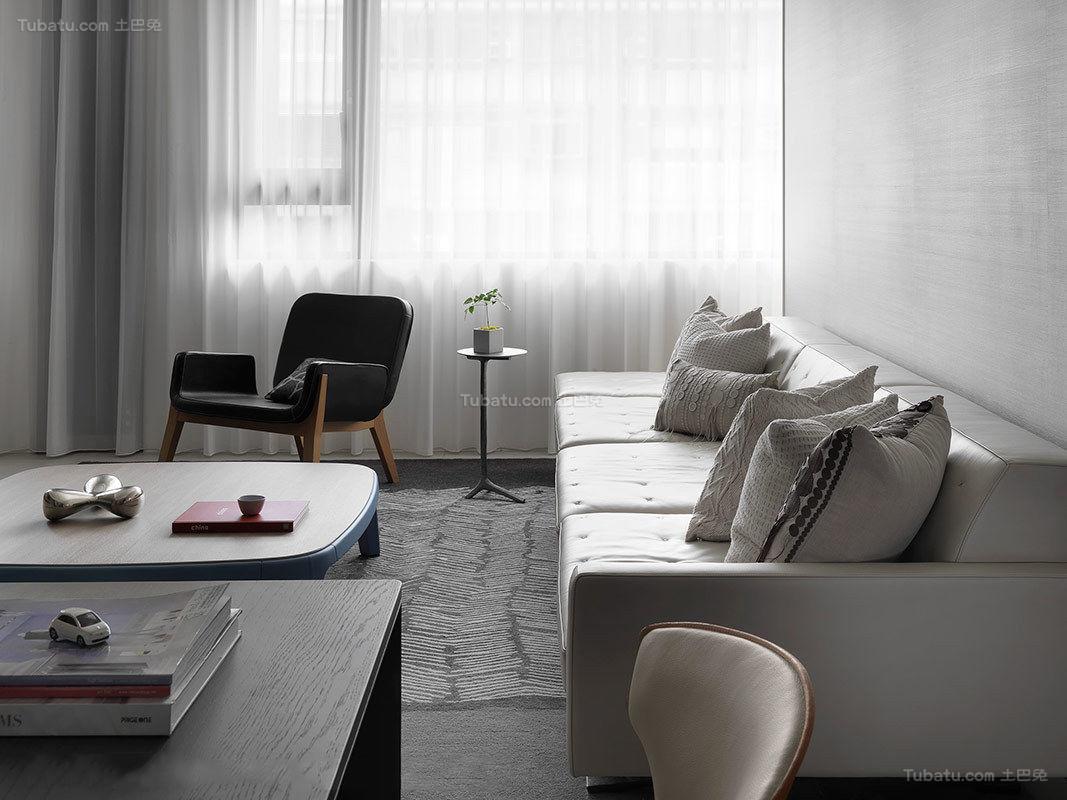 静谧优雅客厅装修效果图
