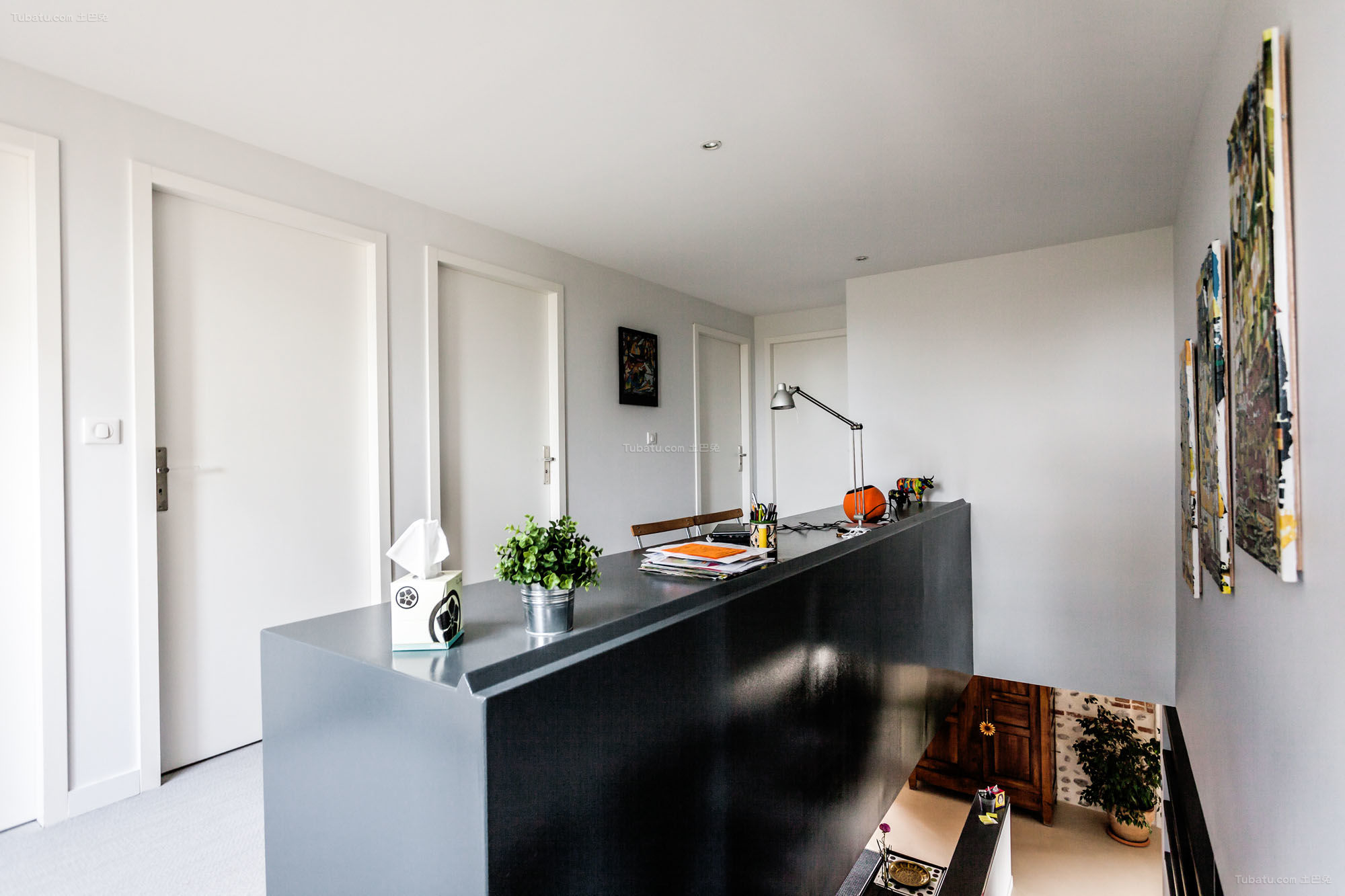 loft风格复古低调厨房图