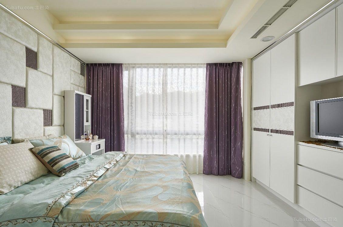 都市潮流现代风格卧室设计效果图