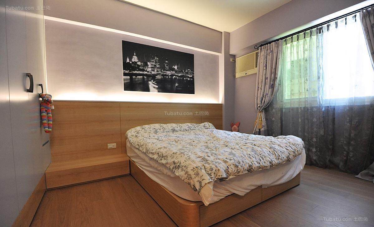 现代东南亚风格卧室设计图片