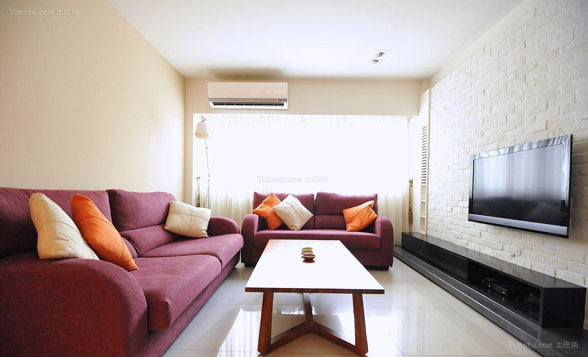 现代东南亚风格客厅设计图片