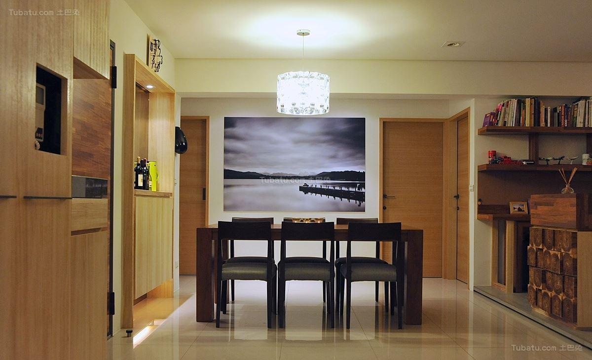 现代东南亚风格餐厅设计图片