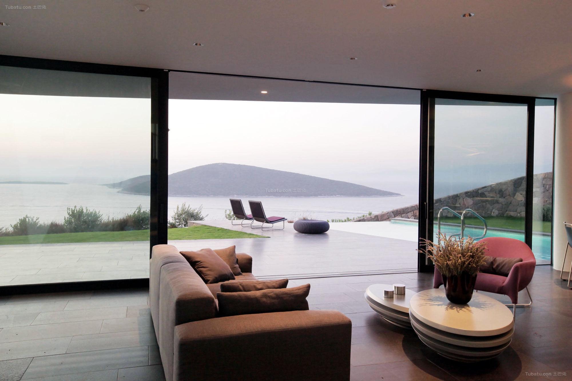 现代风格清简逸景一居室效果图