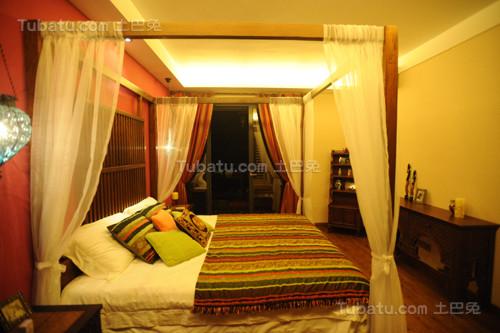 古典中式混搭居家风卧室图片