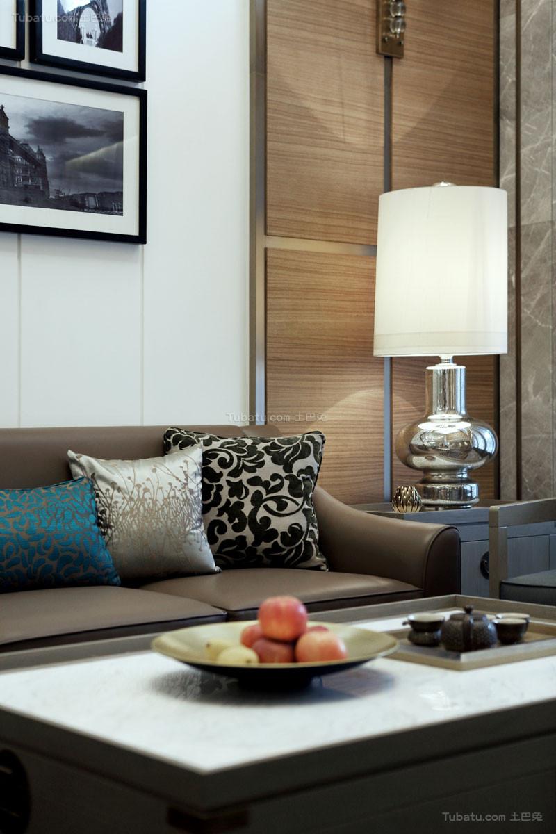 现代清馨简约别墅客厅欣赏图