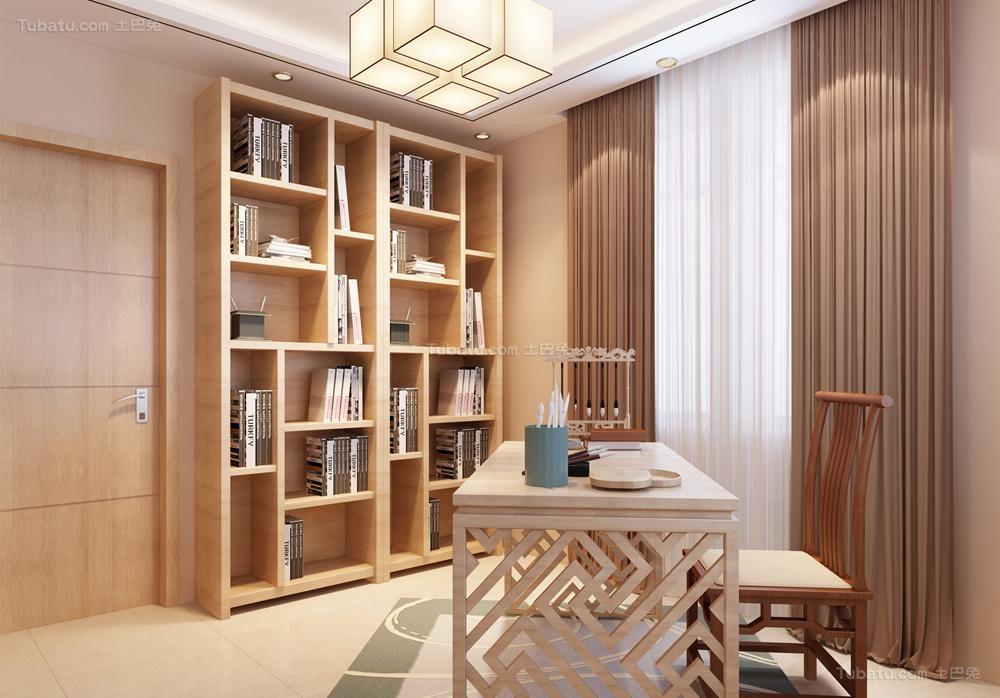 中式家居书房装修图