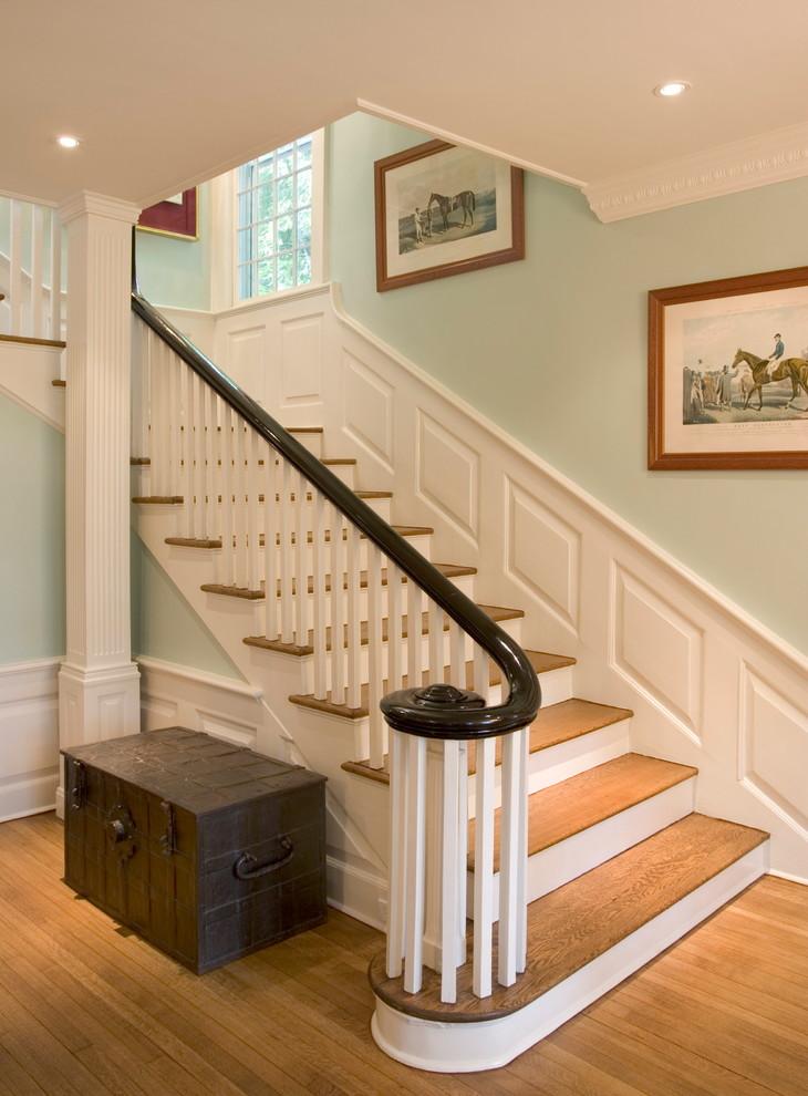 二层楼楼梯效果图