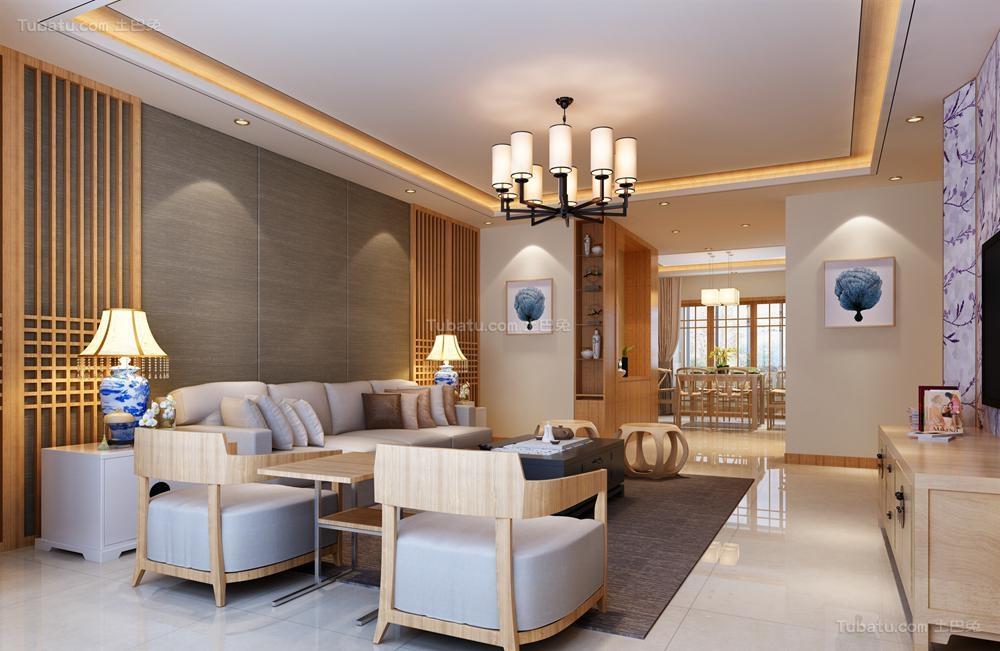 中式家居客厅装修图