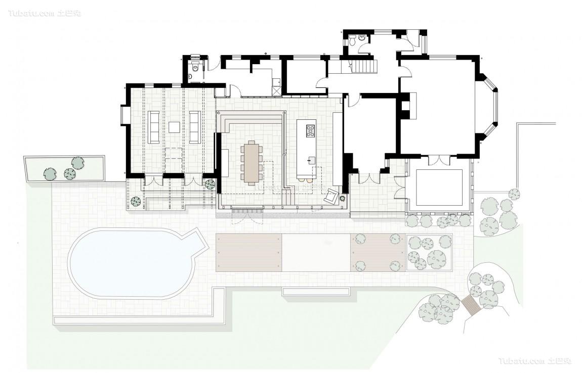 农村别墅平面户型图