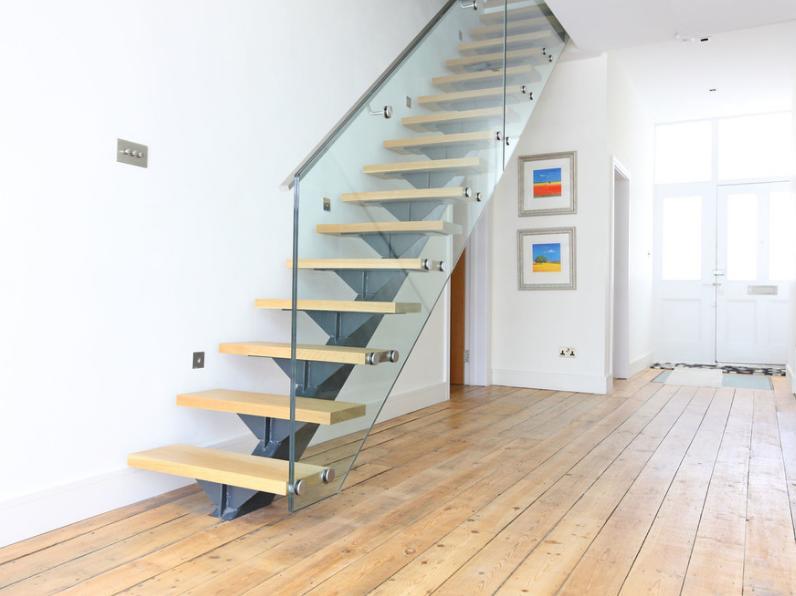 大方二层楼楼梯