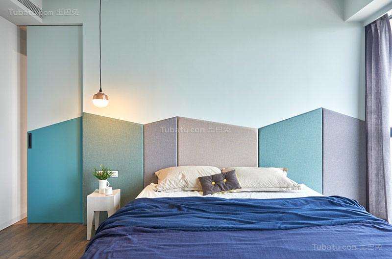 北欧舒适卧室设计效果图
