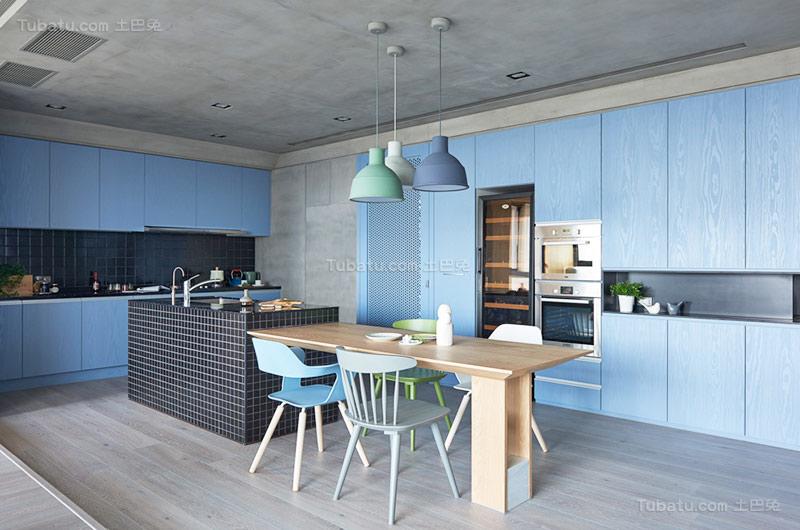 北欧舒适公寓餐厅装修效果图
