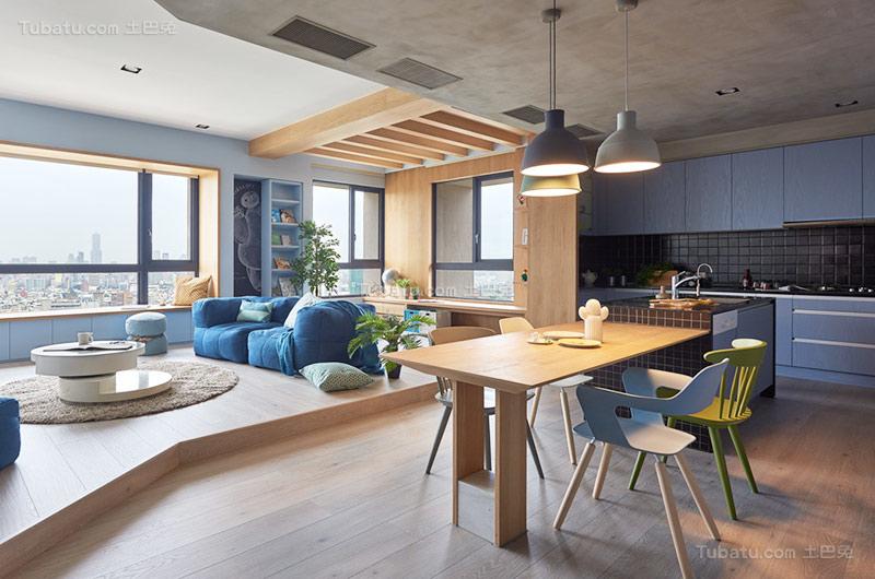 北欧舒适公寓装修效果图