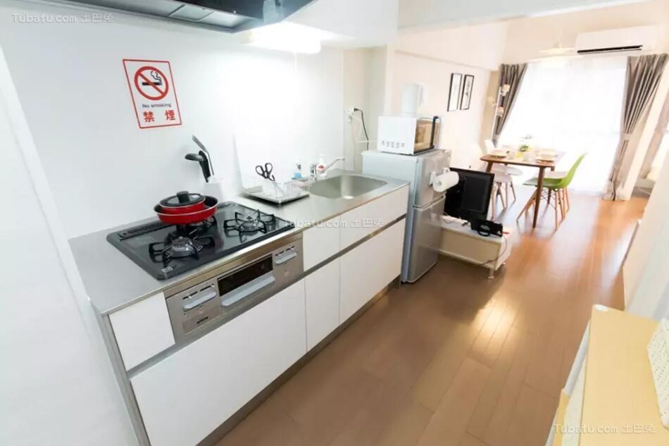 简单素雅风格厨房效果图